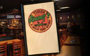View Three Jimmy's Menu